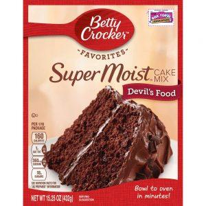 עוגת שוקולד עשירה של בטי קרוקר
